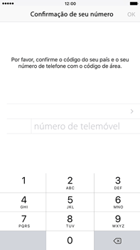 Apple iPhone 6s Plus - Aplicações - Como configurar o WhatsApp -  7
