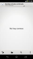 Sony Xperia Z1 - E-mail - Configurar correo electrónico - Paso 4