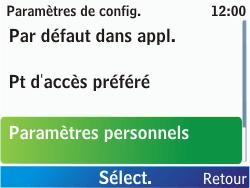Nokia C3-00 - Internet - configuration manuelle - Étape 6