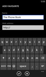 Nokia Lumia 620 - Internet - Internet browsing - Step 11