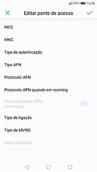 Huawei Mate 9 - Internet no telemóvel - Configurar ligação à internet -  14