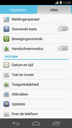 Huawei Ascend P7 - Software update - update installeren zonder PC - Stap 4