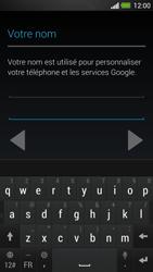 HTC One - Applications - Créer un compte - Étape 6