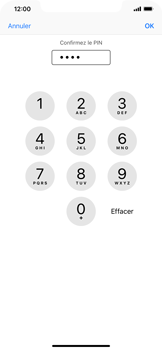Apple iPhone XR - Securité - Modifier le code PIN de la carte SIM - Étape 11
