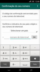 Sony Xperia E4 - Aplicações - Como configurar o WhatsApp -  6