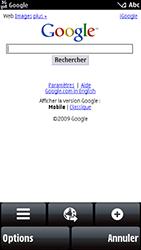 Nokia 5800 Xpress Music - Internet - Navigation sur internet - Étape 7