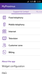Samsung A3 (2016) - Applications - MyProximus - Step 21