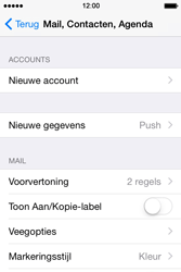 Apple iPhone 4s iOS 8 - E-mail - Handmatig Instellen - Stap 4