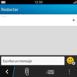 BlackBerry Q5 - Mensajería - Escribir y enviar un mensaje multimedia - Paso 5