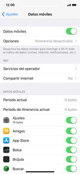 Apple iPhone X - Mensajería - Configurar el equipo para mensajes multimedia - Paso 4