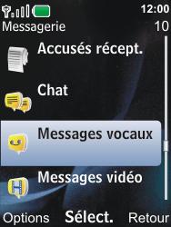 Nokia 6600i slide - Messagerie vocale - Configuration manuelle - Étape 4