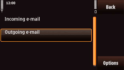 Nokia N97 Mini - E-mail - Manual configuration - Step 25