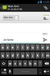 Bouygues Telecom Bs 351 - Contact, Appels, SMS/MMS - Envoyer un SMS - Étape 9
