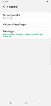 Samsung galaxy-s9-plus-sm-g965f-android-pie - Voicemail - Handmatig instellen - Stap 7