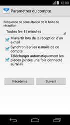 Acer Liquid E600 - E-mail - Configurer l