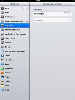 Apple iPad 4th generation - Réseau - utilisation à l'étranger - Étape 8
