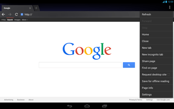 Acer Iconia Tab A3 - Internet - Internet browsing - Step 13