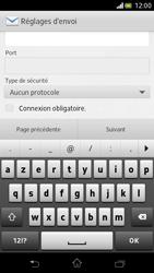 Sony LT30p Xperia T - E-mail - Configuration manuelle - Étape 12