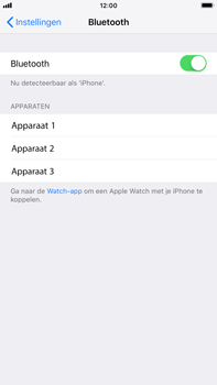 Apple iPhone 8 Plus - iOS 12 - Bluetooth - koppelen met ander apparaat - Stap 7