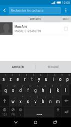 HTC One (M8) - Contact, Appels, SMS/MMS - Envoyer un SMS - Étape 7