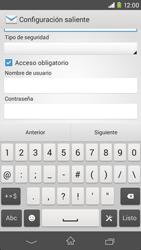 Sony Xperia M2 - E-mail - Configurar correo electrónico - Paso 14