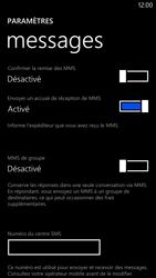 Nokia Lumia 1320 - SMS - Configuration manuelle - Étape 8