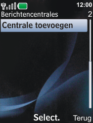 Nokia 6600i slide - SMS - Handmatig instellen - Stap 7
