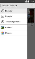 LG F70 - Contact, Appels, SMS/MMS - Envoyer un MMS - Étape 15