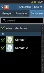 Samsung S7275 Galaxy Ace III - Contactgegevens overzetten - delen via Bluetooth - Stap 7