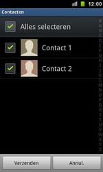 Samsung I9100 Galaxy S II - Contactgegevens overzetten - delen via Bluetooth - Stap 5