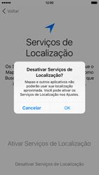 Apple iPhone iOS 9 - Primeiros passos - Como ativar seu aparelho - Etapa 13
