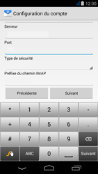 Acer Liquid Jade - E-mail - Configuration manuelle - Étape 10