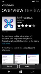 Nokia Lumia 735 - Applications - MyProximus - Step 8