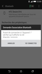 HTC Desire 816 - Bluetooth - connexion Bluetooth - Étape 9