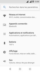 Nokia 1 - Wifi - configuration manuelle - Étape 3