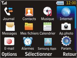 Samsung S3570 Chat 357 - Internet - configuration manuelle - Étape 15