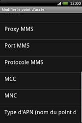 HTC A6262 Hero - MMS - Configuration manuelle - Étape 11