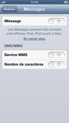 Apple iPhone 5 - MMS - Configuration manuelle - Étape 12