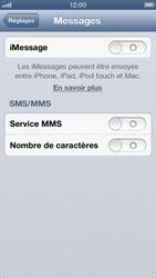 Apple iPhone 5 - MMS - configuration manuelle - Étape 13