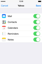 Apple iPhone 4 S iOS 7 - E-mail - Manual configuration (yahoo) - Step 9