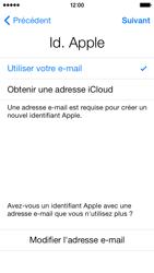 Apple iPhone 5s - Premiers pas - Créer un compte - Étape 14