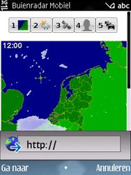 Nokia E75 - Internet - Hoe te internetten - Stap 13