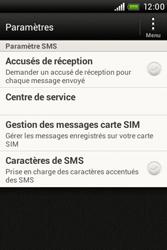 HTC A320e Desire C - SMS - configuration manuelle - Étape 5