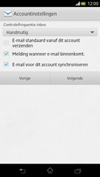 Sony LT30p Xperia T - E-mail - Handmatig instellen - Stap 13