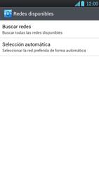 LG Optimus L9 - Red - Seleccionar una red - Paso 7