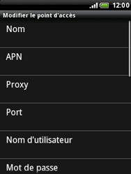 HTC A3333 Wildfire - Internet - Configuration manuelle - Étape 8