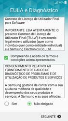 Samsung Galaxy A5 - Primeiros passos - Como ligar o telemóvel pela primeira vez -  8