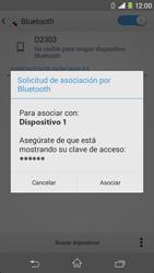 Sony Xperia M2 - Bluetooth - Conectar dispositivos a través de Bluetooth - Paso 7