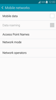 Samsung N910F Galaxy Note 4 - Internet - Enable or disable - Step 8