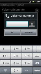 Sony Ericsson Xperia Arc - Voicemail - handmatig instellen - Stap 8